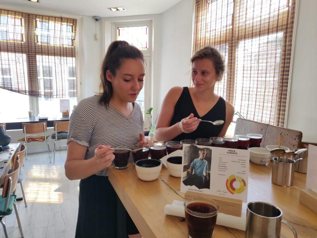 Koffieproeverij - cupping