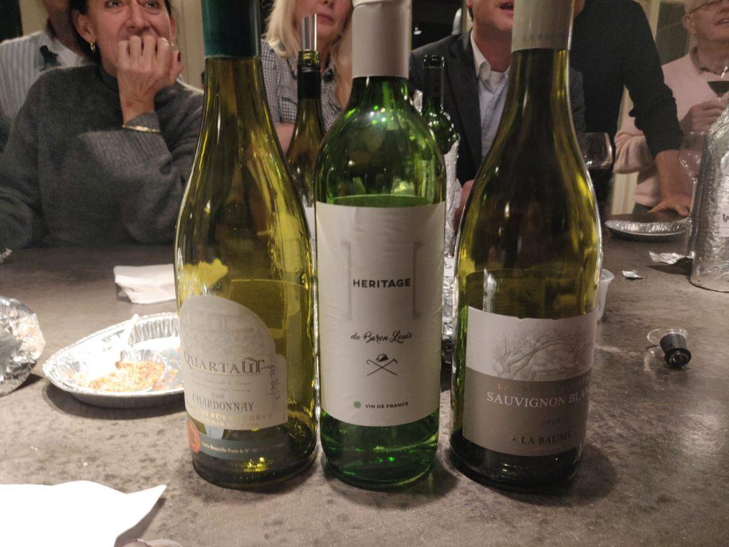 Winnaars witte wijn